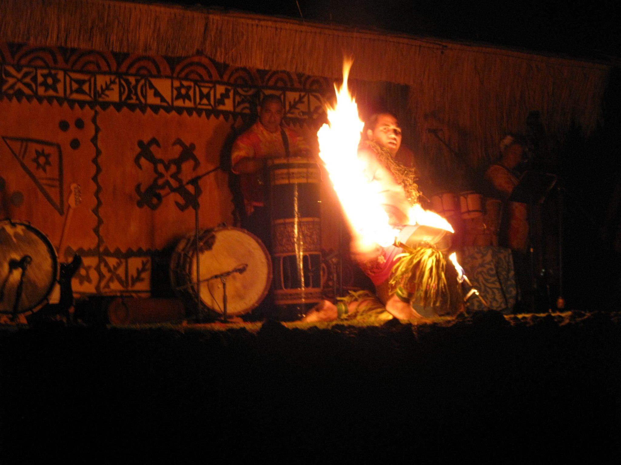 Fire Knife Dancers
